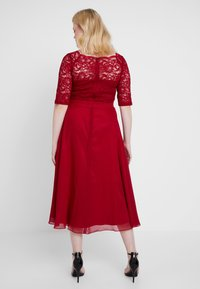Swing Curve - Cocktail dress / Party dress - rot - 3