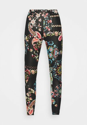 GALACTIC - Leggings - Trousers - black