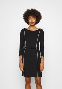Anna Field - Shift dress - off-white/black - 0