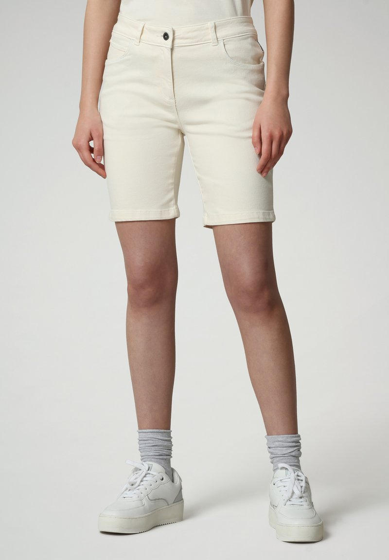 Napapijri - Denim shorts - new milk