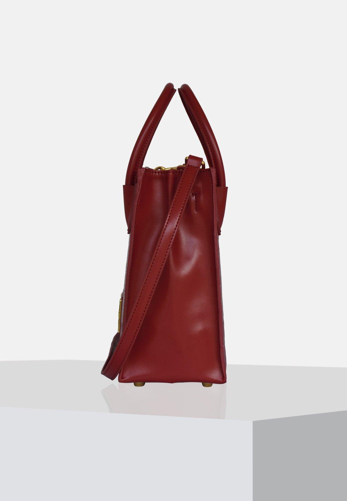 Silvio Tossi Håndtasker - Burgundy