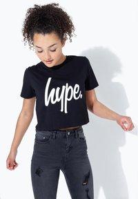 Hype - Print T-shirt - black - 0