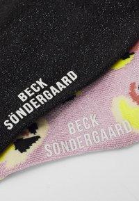 Becksöndergaard - MIX SOCK 2 PACK - Socks - silver gray/solid black - 1