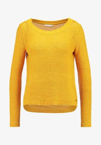 ONLGEENA - Jumper - golden yellow