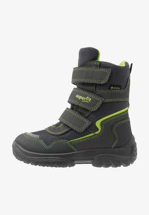 SNOWCAT - Zimní obuv - grau/grün