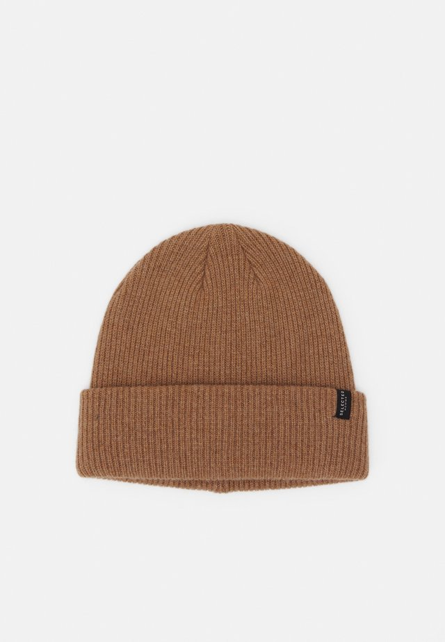SLHCRAY BEANIE - Bonnet - tigers eye/melange