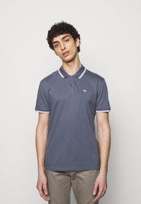 Emporio Armani - Polo shirt - grey - 0