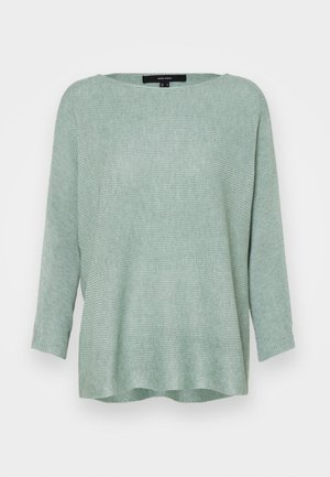 VMNORA BOATNECK - Sweter - jadeite melange