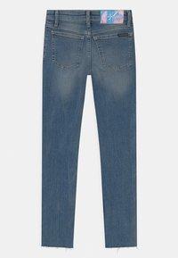Calvin Klein Jeans - SKINNY - Skinny džíny - blue - 1