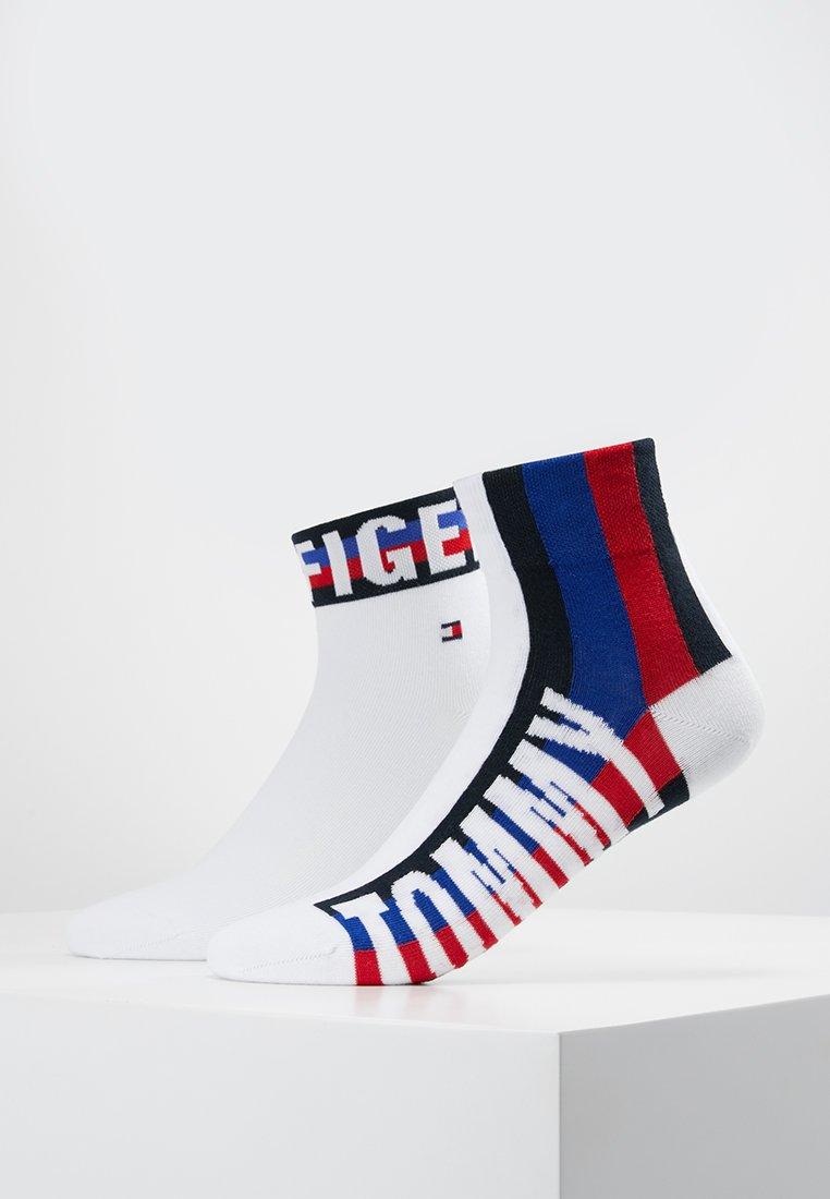 Tommy Hilfiger - MEN QUARTER 2 PACK - Socks - white