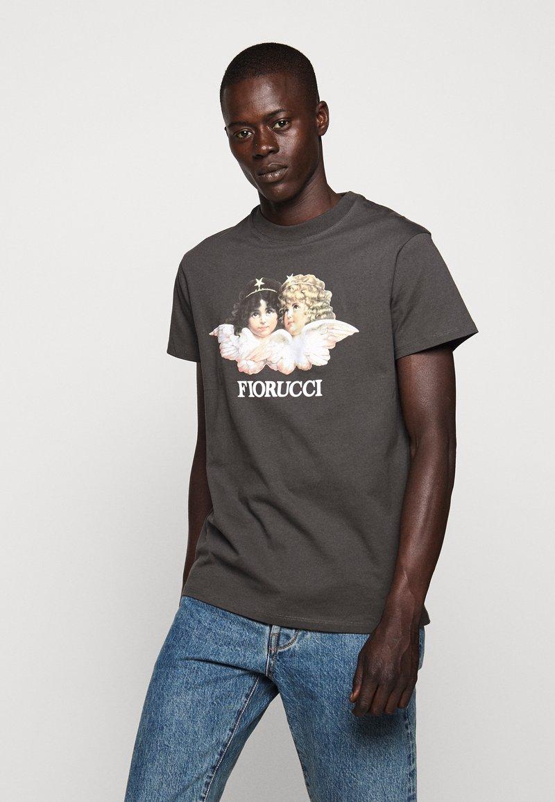 Fiorucci - VINTAGE ANGELS TEE - Print T-shirt - dark grey