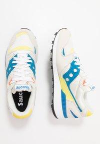Saucony - AZURA - Baskets basses - white/blue/yellow - 1