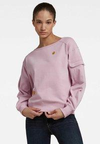 G-Star - BOAT NECK - Sweatshirt - lavender pink - 0