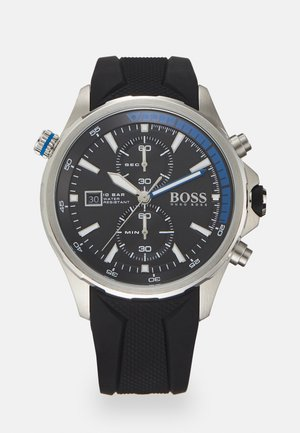 GLOBETROTTER - Chronograph watch - black