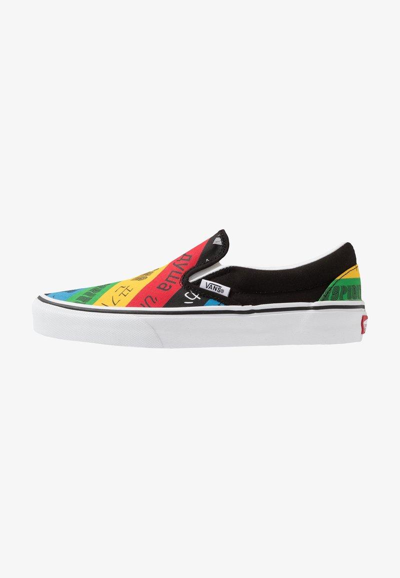 Vans - CLASSIC - Nazouvací boty - multicolor/true white