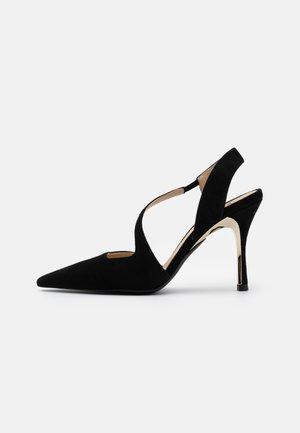 CODE SLINGBACK  - High heels - nero