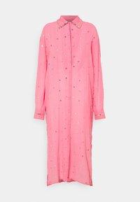 MANÉ - SEREN SHIRT DRESS - Sukienka koszulowa - coral/gold - 0