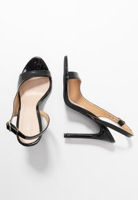 BEBO - BRISA - High heeled sandals - black - 3