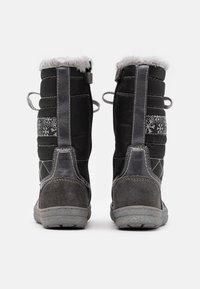 Lurchi - ALPY TEX - Zimní obuv - dark grey - 2