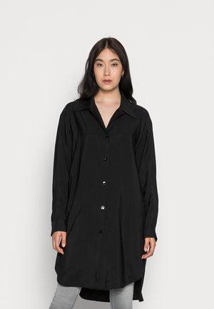 ASHLEY LONG - Button-down blouse - black