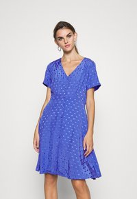 Nümph - NUBRANDALL DRESS - Day dress - blue - 0