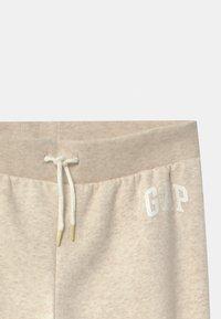 GAP - GIRL LOGO - Teplákové kalhoty - oatmeal heather - 2
