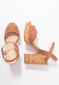 Madden Girl - CARRY - High heeled sandals - caramel - 3