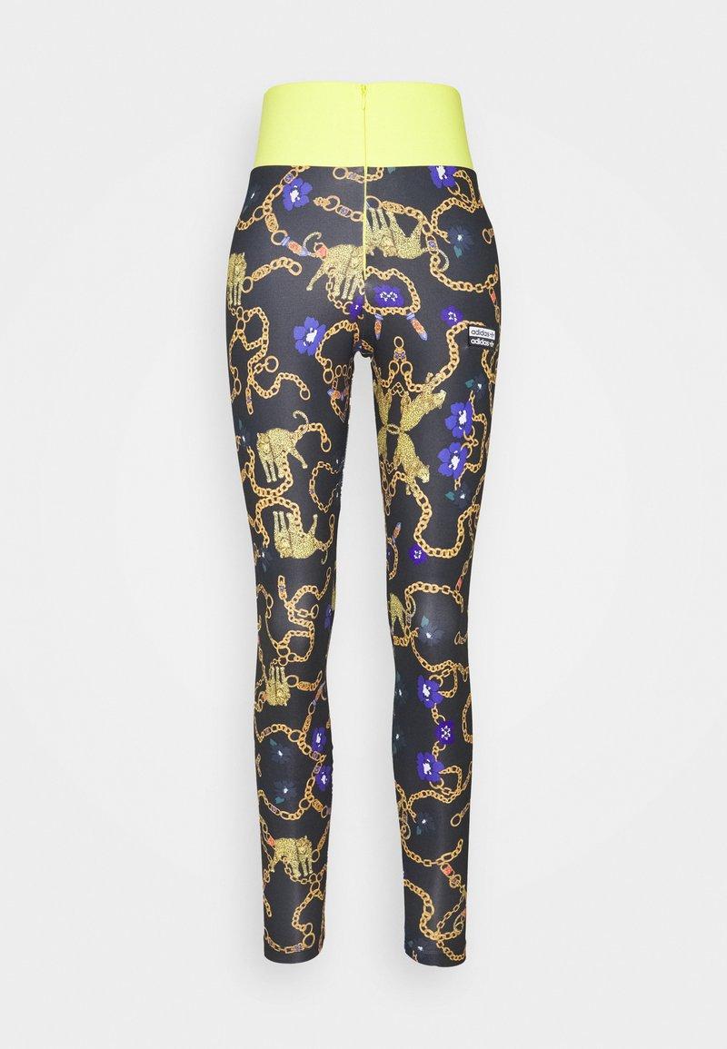 adidas Originals - GRAPHICS HIGH RISE REGULAR TIGHTS - Leggings - Trousers - multicolor