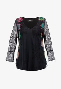 Desigual - BRULÉ - Camiseta de manga larga - multi-coloured