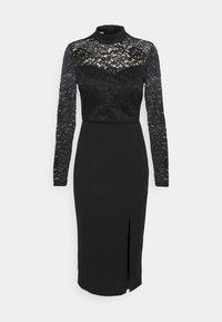 HIGH NECK DRESS - Cocktail dress / Party dress - black