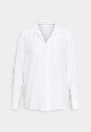 BLOUSE TAPE  - Button-down blouse - white