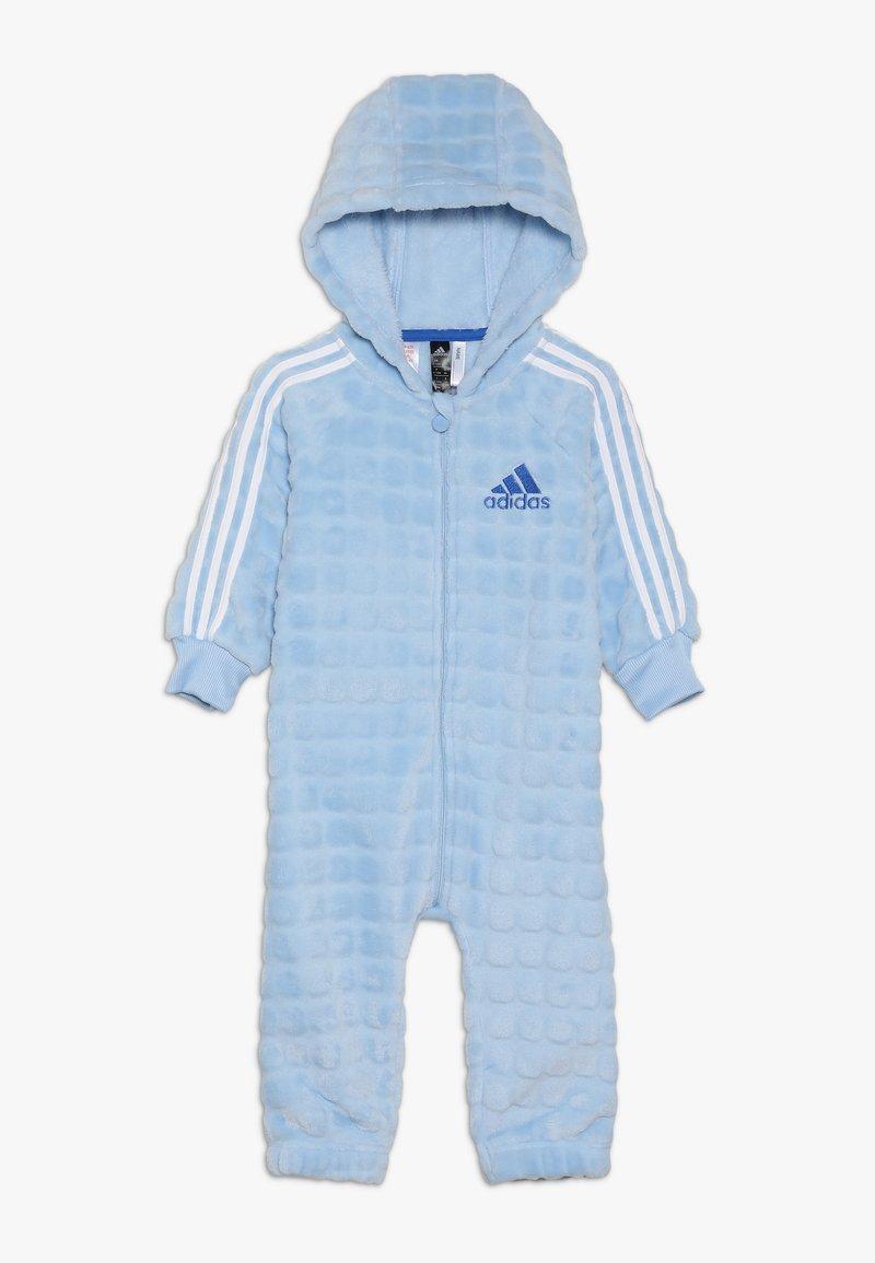 adidas Performance - ONESIE - Tepláková souprava - blue/white