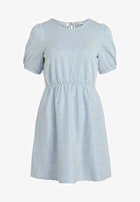 Vila - Day dress - cashmere blue - 5