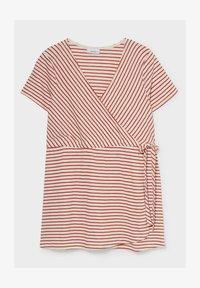 C&A - Print T-shirt - red/cremewhite - 3