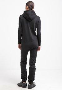 Urban Classics - Jumpsuit - black/white - 2