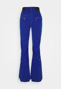 RISING HIGH - Snow pants - mazarine blue