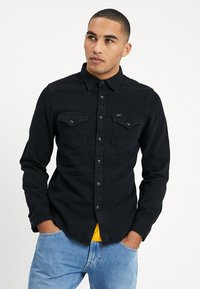 Lee - WESTERN - Shirt - black - 0