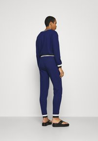 Cream - MONA PANTS - Trousers - medieval blue - 2