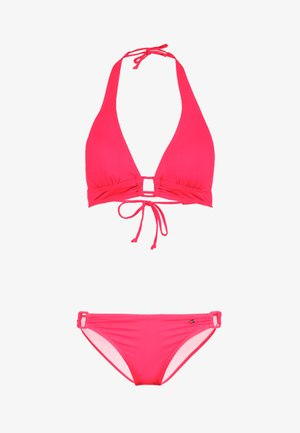 TRIANGLE SET - Bikini - red
