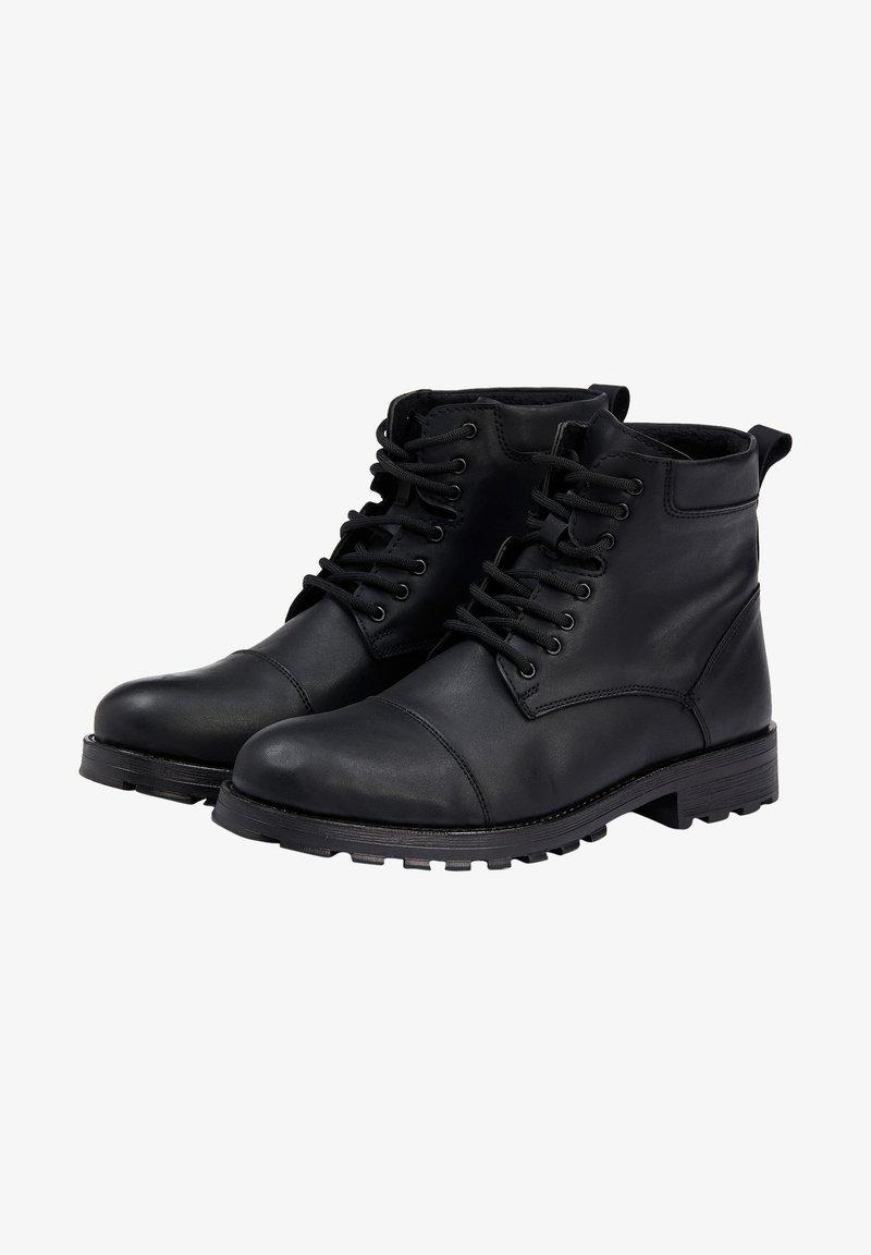 DeFacto - Lace-up ankle boots - black