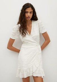 Mango - Sukienka letnia - blanc cassé - 0