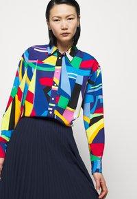 Lauren Ralph Lauren - Button-down blouse - black/multi - 4