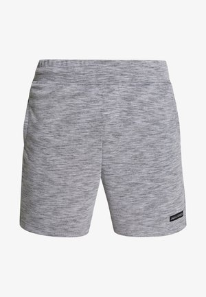 JJIZSWEAT SHORT  - kurze Sporthose - light grey melange