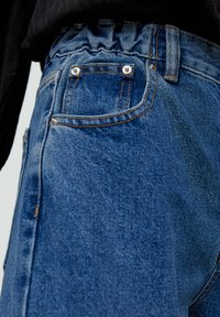 PULL&BEAR - MOM - Jeans baggy - blue - 6