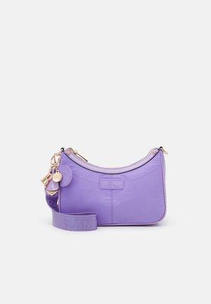 SET - Across body bag - purple bright