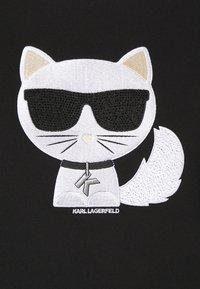 KARL LAGERFELD - IKONIK CHOUPETTE  - Sweatshirt - black - 6