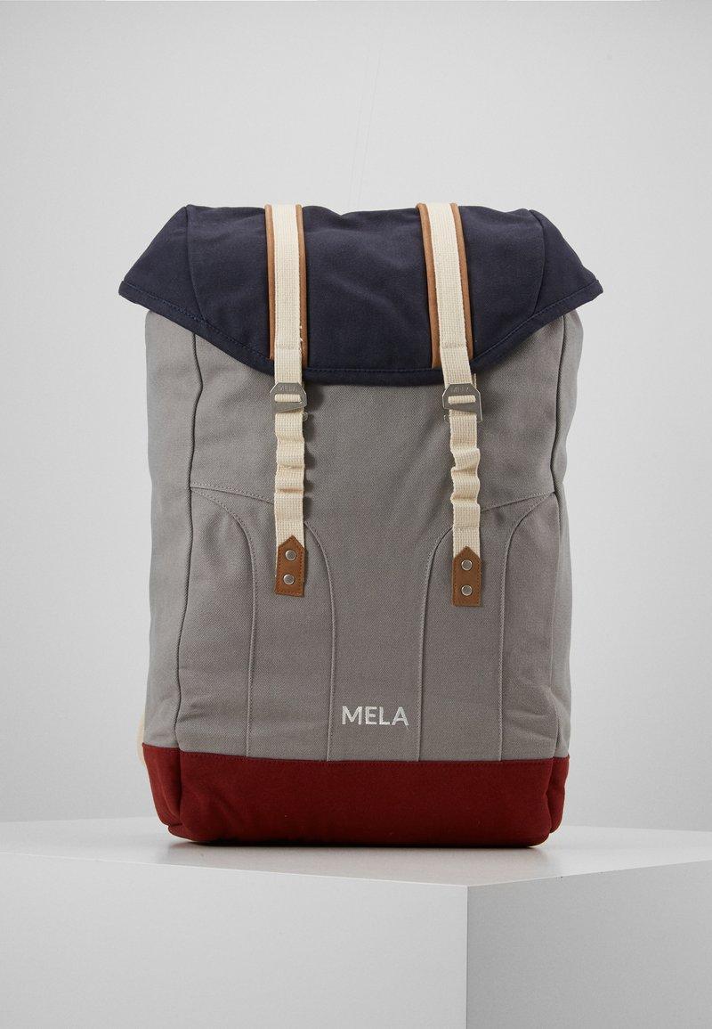 Melawear - MELA - Batoh - blau/grau/rot