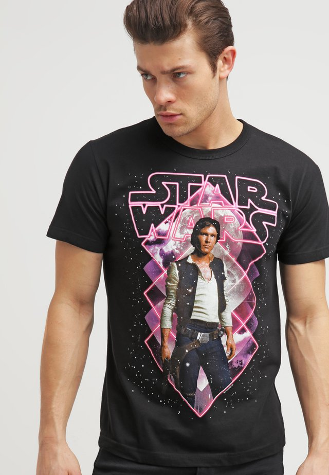 STAR WARS - HAN SOLO - Print T-shirt - black