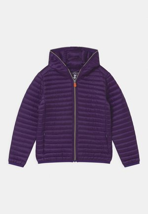 IRIS HOODED UNISEX - Lehká bunda - deep purple