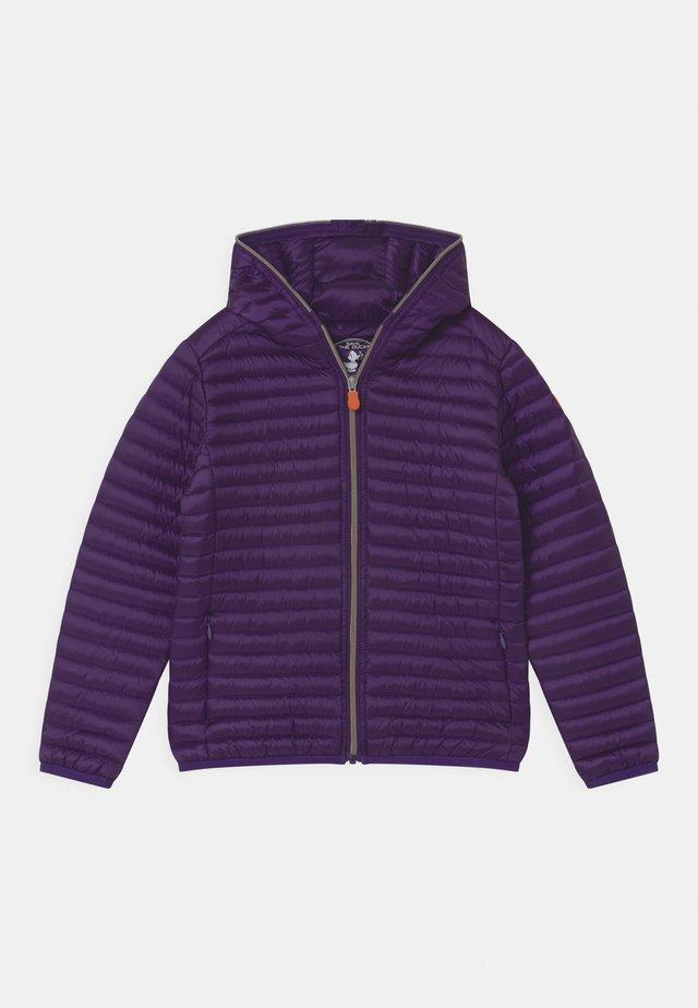 IRIS HOODED UNISEX - Light jacket - deep purple